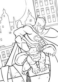 Free Printable Batman Coloring Pages DC Superhero - 45193