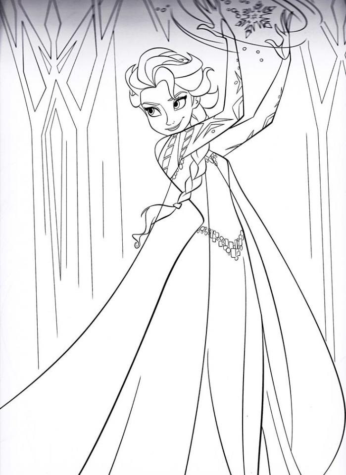Free Printable Elsa Coloring Pages Robertdee Org