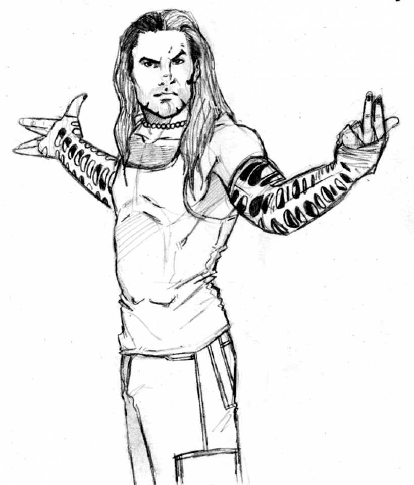 Get This Jeff Hardy Coloring Pages Printable 1CHW8
