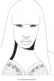 Nicki Minaj Coloring Pages To Print 72845