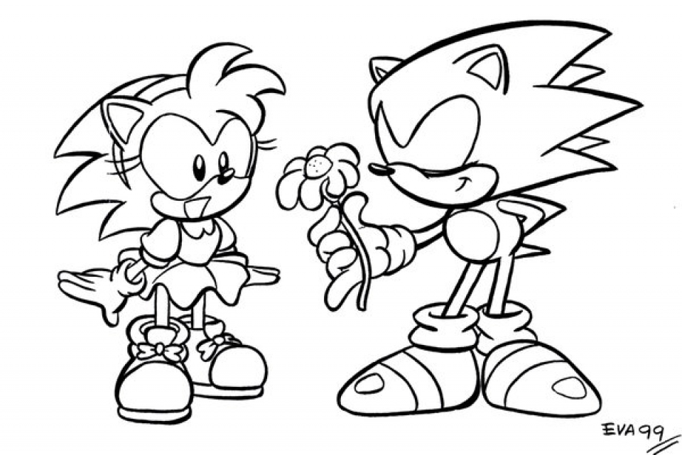 - Get This Online Printable Sonic Coloring Pages For Kids 73791 !