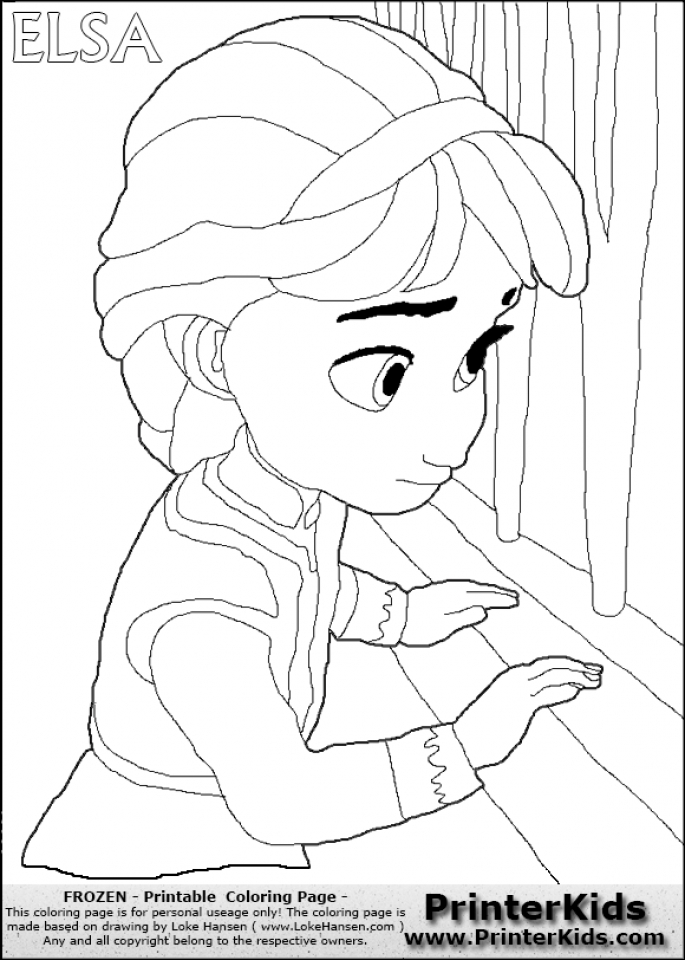 Get This Princess Elsa Coloring Pages 69164