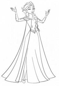 Princess Elsa Coloring Pages 97341