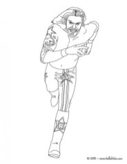 Printable Jeff Hardy Coloring Pages Online YFGW6