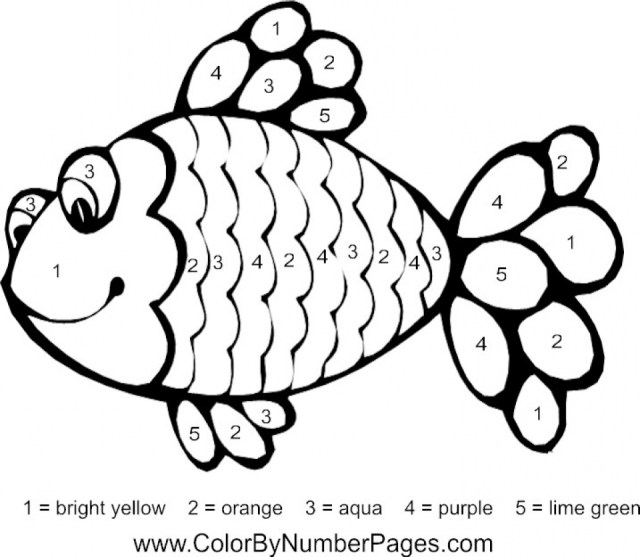 Get This Printable Rainbow Fish Coloring Sheets for Kids 20CBV20 !