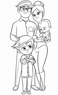 Boss Baby Coloring Pages Free to Print - 11713