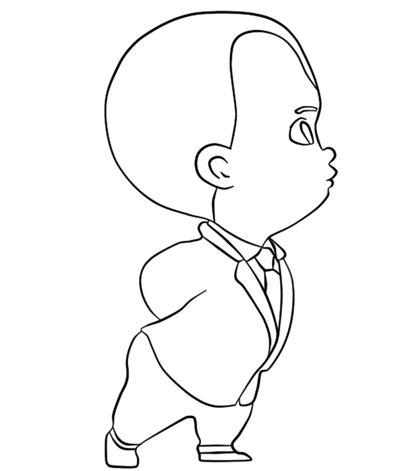 Boss Baby Coloring Pages Free to Print - 31672