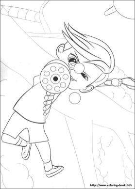 Online Boss Baby Coloring Pages for Kids - 77891