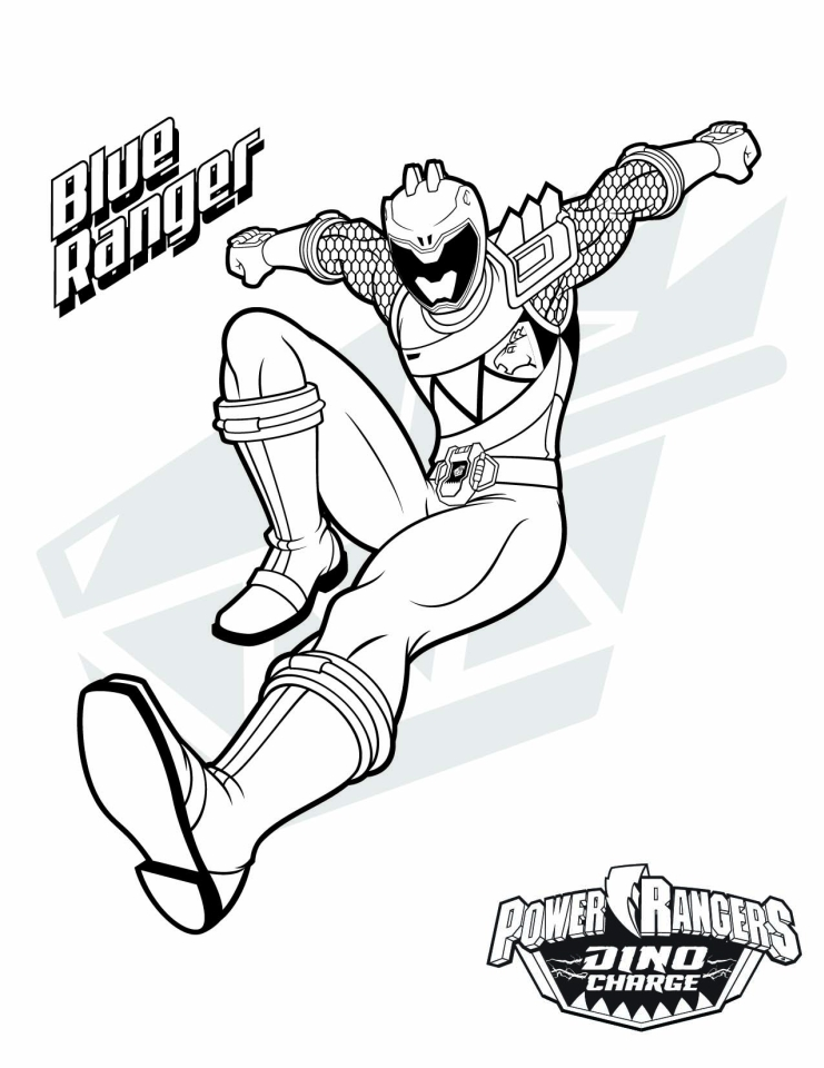 Get This Power Ranger Dino Force Coloring Pages for Kids