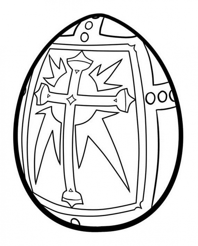 Advanced Coloring Pages of Easter Egg for Grown Ups   57730