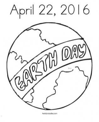 Earth Day Free Printable Coloring Pages 39175