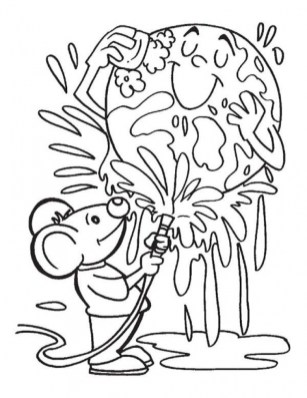 Earth Day Free Printable Coloring Pages 81735