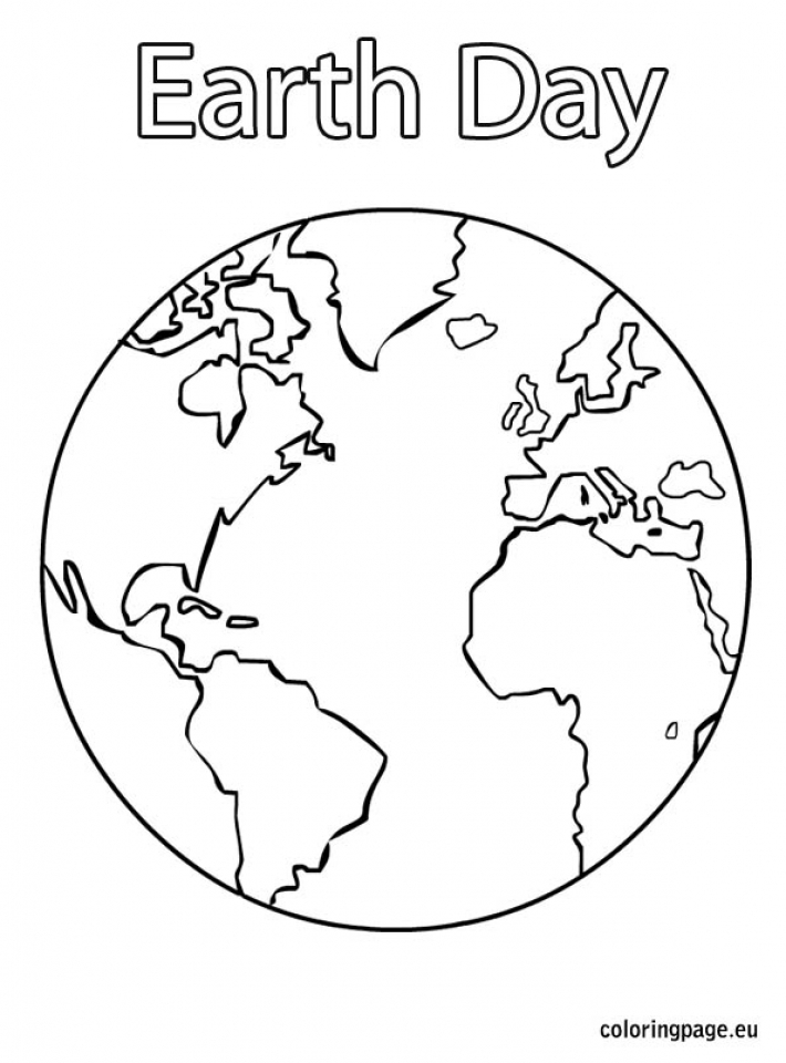 Earth Day Free Printable Coloring Pages   94617