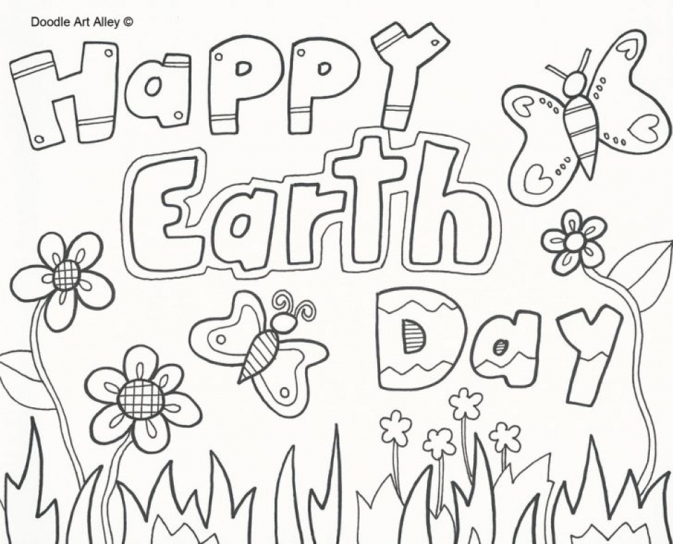 20+ Free Printable Earth Day Coloring Pages - EverFreeColoring.com