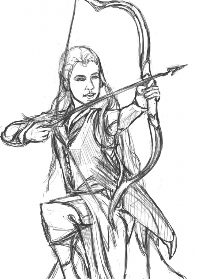 Get This Free Printable The Hobbit Coloring Pages 67381