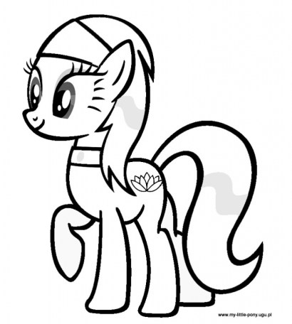 Image of My Little Pony Friendship Is Magic Coloring Pages to Print for Kids 48556