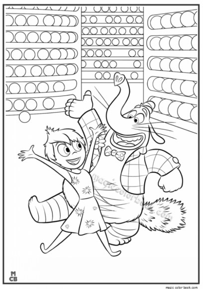 Inside Out Printable Coloring Pages for Kids 23771