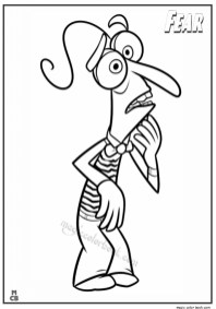 Inside Out Printable Coloring Pages for Kids 58330
