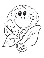 Kids Printable Earth Day Coloring Pages Free 57104
