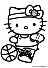 Kitty Coloring Pages to Print for Kids 48519