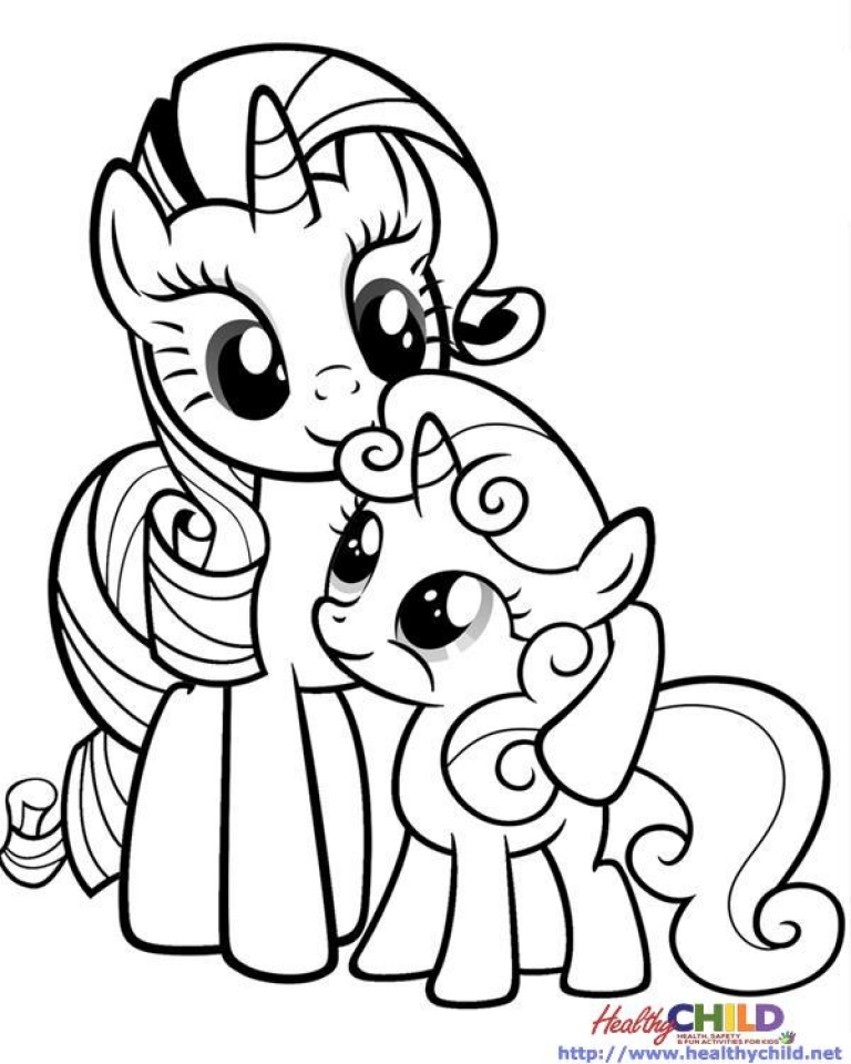 Free My Little Pony Friendship Is Magic Coloring Pages