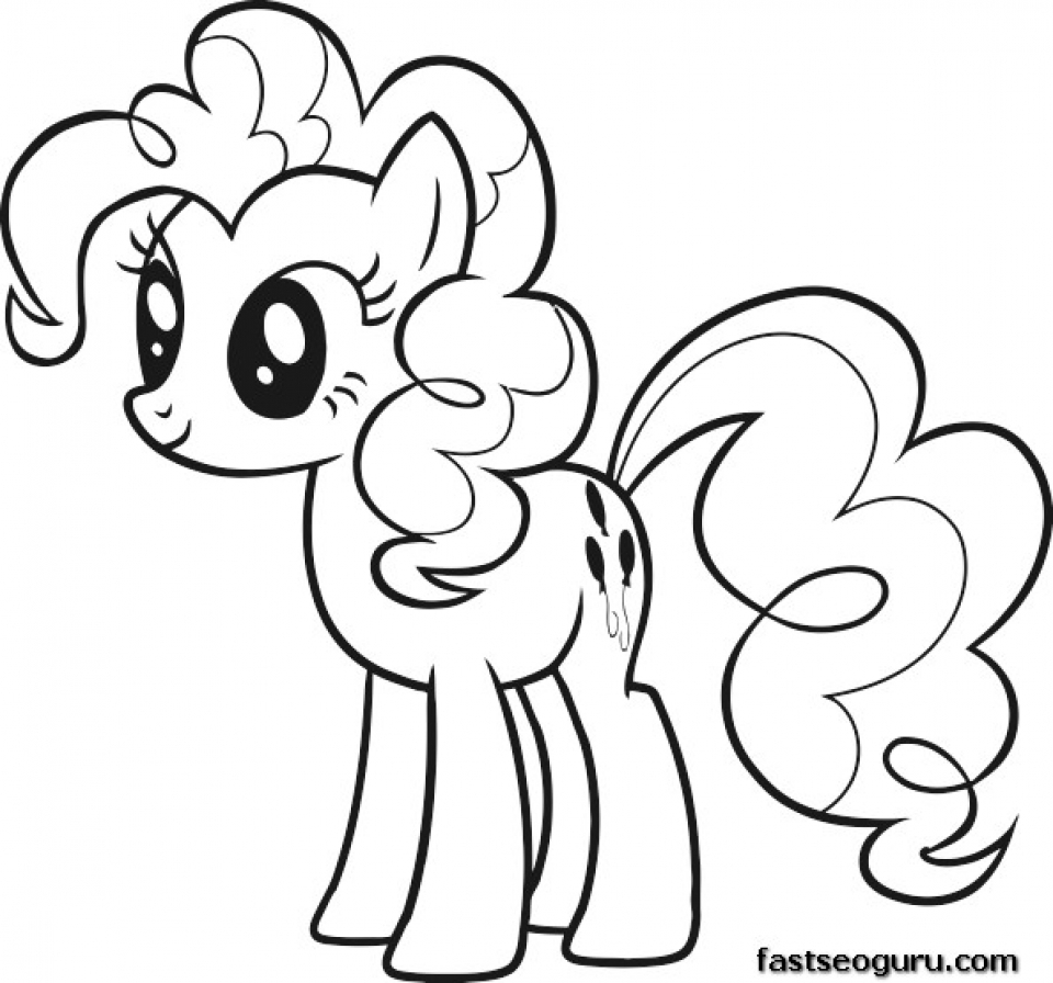 Picture of My Little Pony Friendship Is Magic Coloring Pages Free for Children   32937