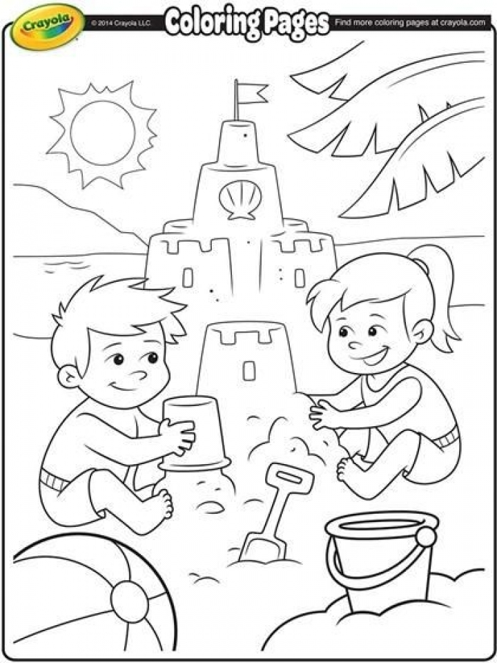 Printable Summer Coloring Pages for 5th Grade   16274