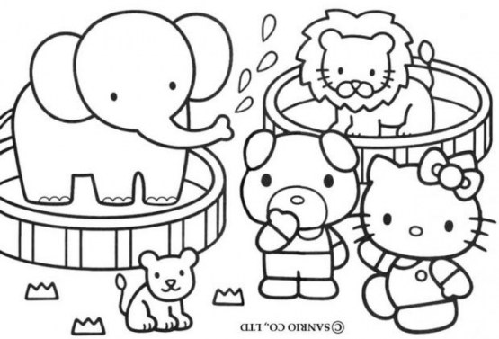 Zoo Coloring Pages Online Printable 57987