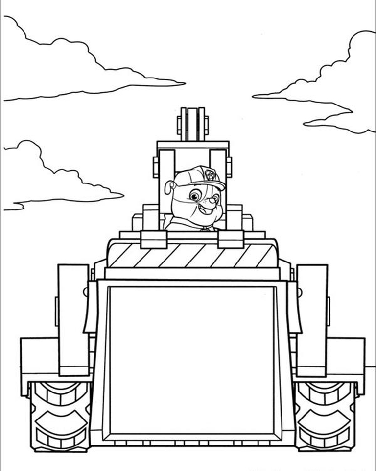 Get This Kids Printable Paw Patrol Coloring Pages Rubble