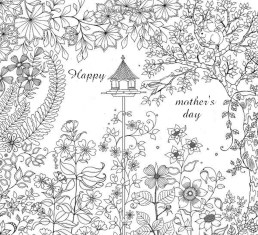 Mother's Day Coloring Pages for Adults Printable - 00319