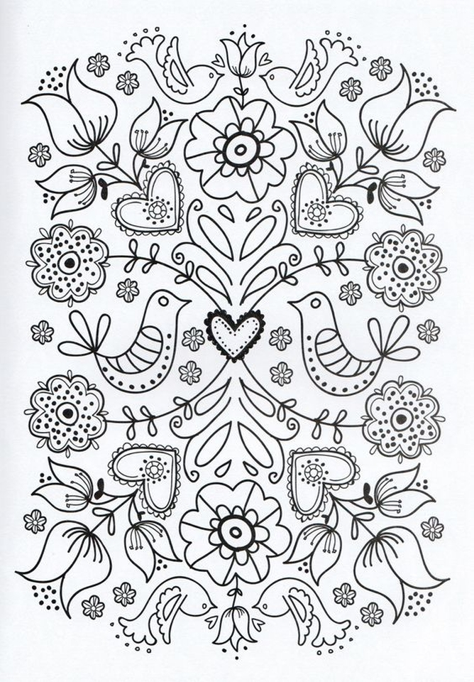 Get This Online Printable Mother's Day Coloring Pages for