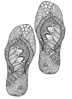 Online Summer Printable Coloring Pages for Adults - 37591