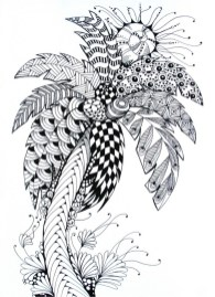 Online Summer Printable Coloring Pages for Adults - 62101