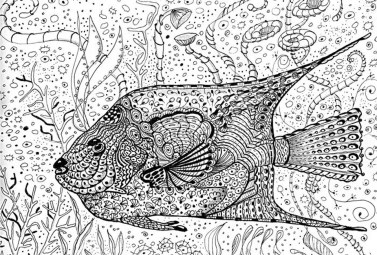 Online Summer Printable Coloring Pages for Adults - 63121