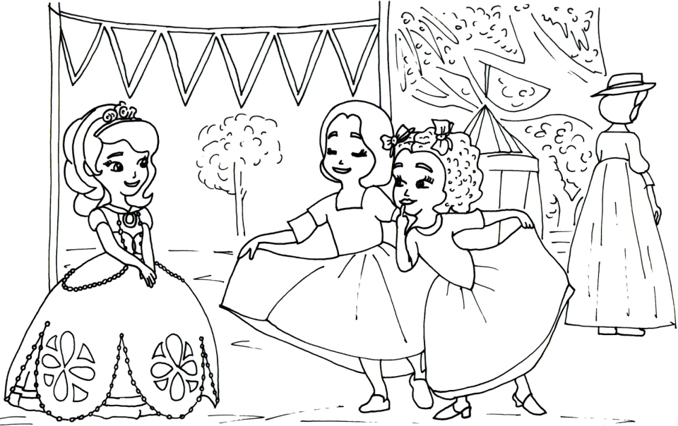 - Get This Princess Sofia The First Coloring Pages To Print Out For Girls -  87851 !