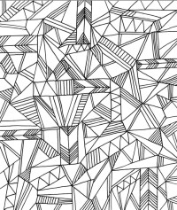 Get This Printable Geometric Coloring Pages for Adults ...