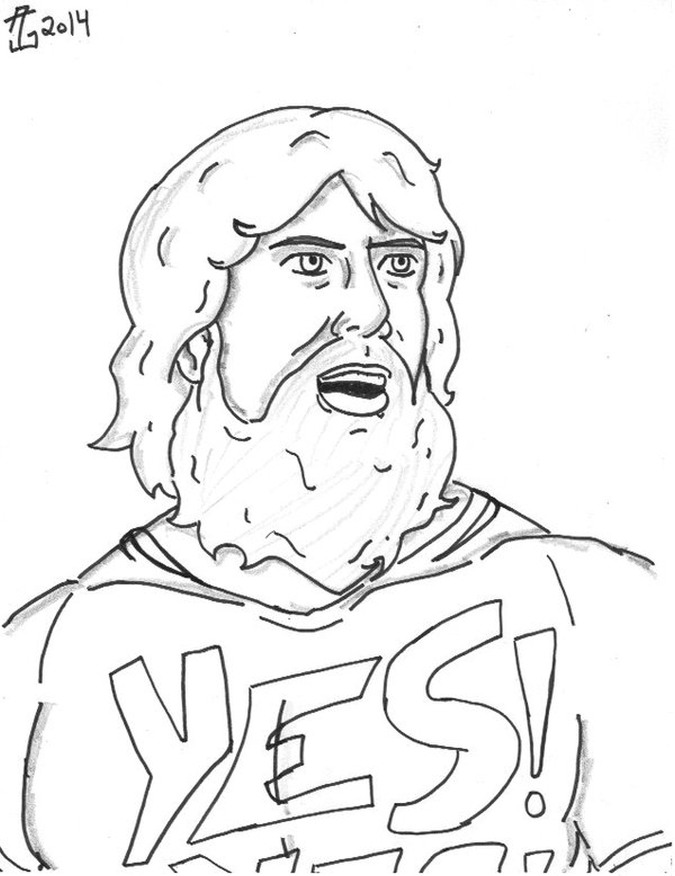 Get This Printable Wwe Coloring Pages Daniel Bryan 32901