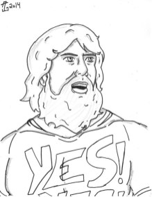 Printable wwe coloring pages daniel bryan - 32901