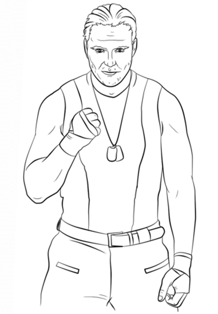 The Firefly Fun House Coloring Page: WWE Canvas 2 Canvas - YouTube | 1268x880
