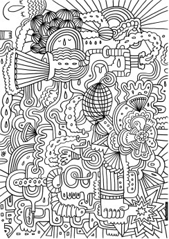 Abstract Adult Coloring Sheets to Print Out 97081