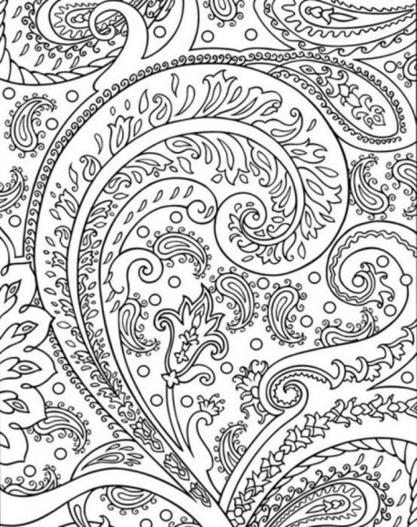 Abstract Coloring Pages for Adults 15269
