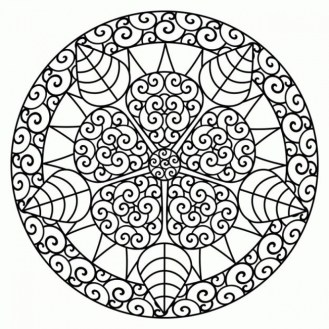 Abstract Coloring Pages for Adults 53617