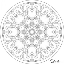 Abstract Coloring Pages to Print for Grown Ups 74512