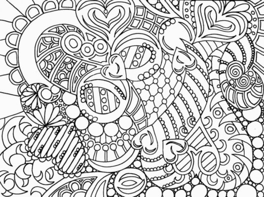 Abstract Coloring Pages to Print Online 27815