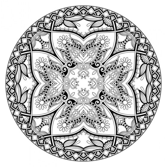 Abstract Coloring Pages to Print Online 75172