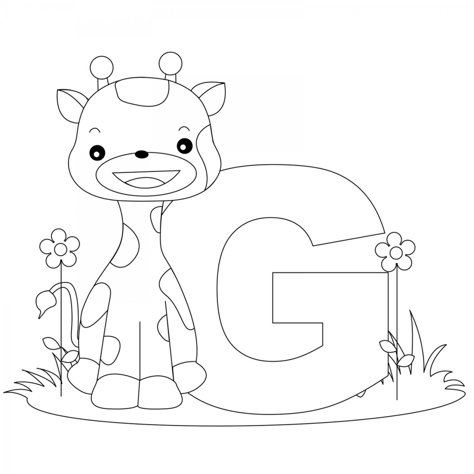 Get This Alphabet Coloring Pages for Kindergarten Students