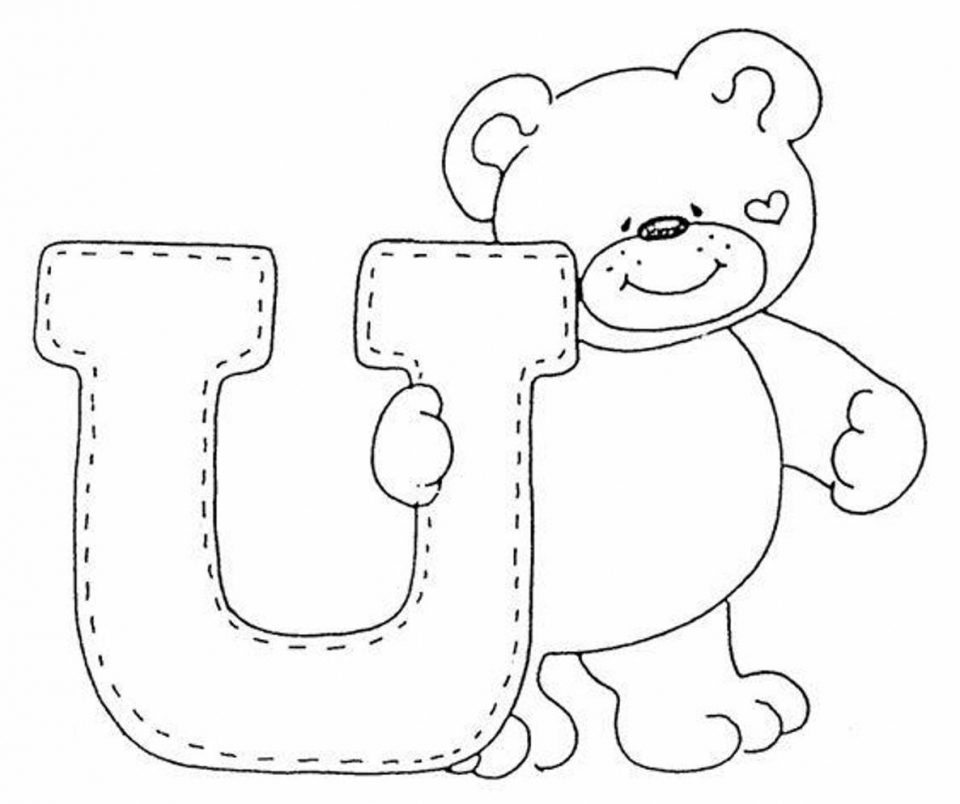 Alphabet Coloring Pages Kids Printable   75631