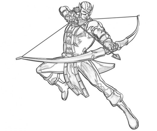 Avengers Coloring Pages Boys Printable 65731