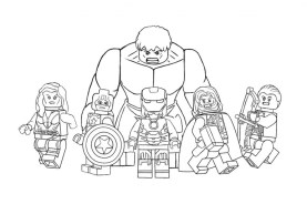 Avengers Coloring Pages Free Printable 62761