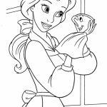 20+ Free Printable Disney Princess Belle Coloring Pages